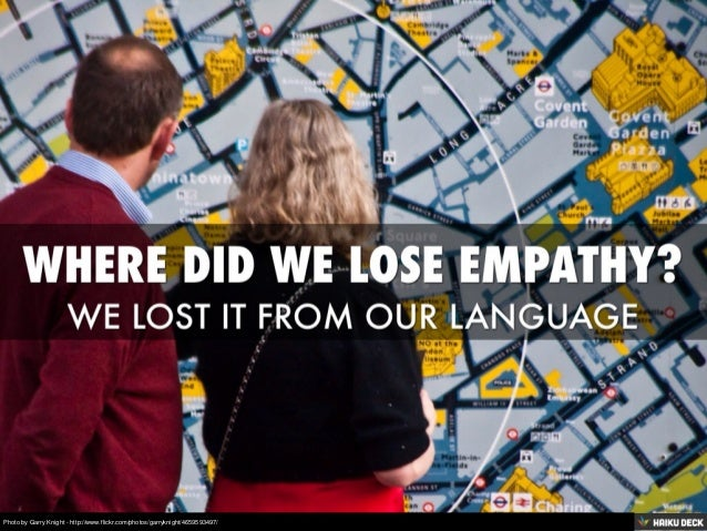 Where Did We Lose Empathy?