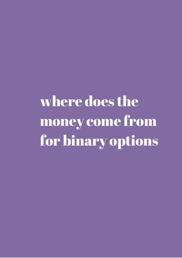 Selling binary options