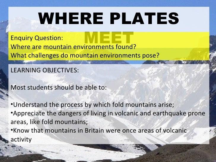 Where Plates Meet