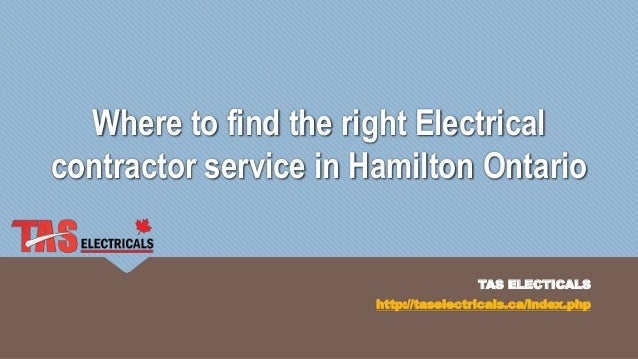 Where to find the right electrical contractor service - Contractor how to find one ...