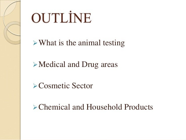 essay outline on animal testing