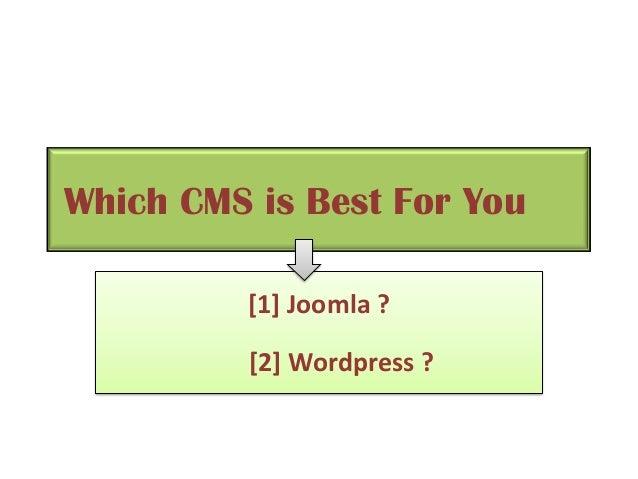 PSD to Joomla Theme Vs PSD to Wordpress Theme