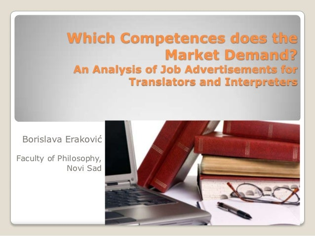 Which Competences does the                      Market Demand?              An Analysis of Job Advertisements for         ...