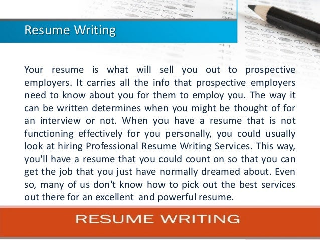 10 Ways to Build a Resume Like a Professional Resume Writer: The Do's