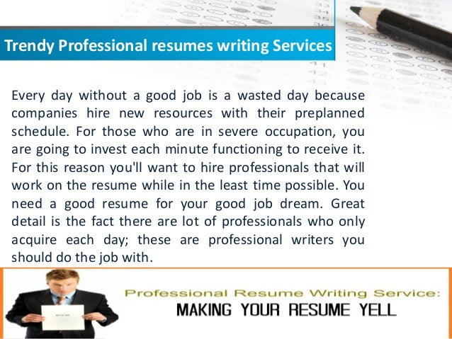 which of professional resume writer you want to hire