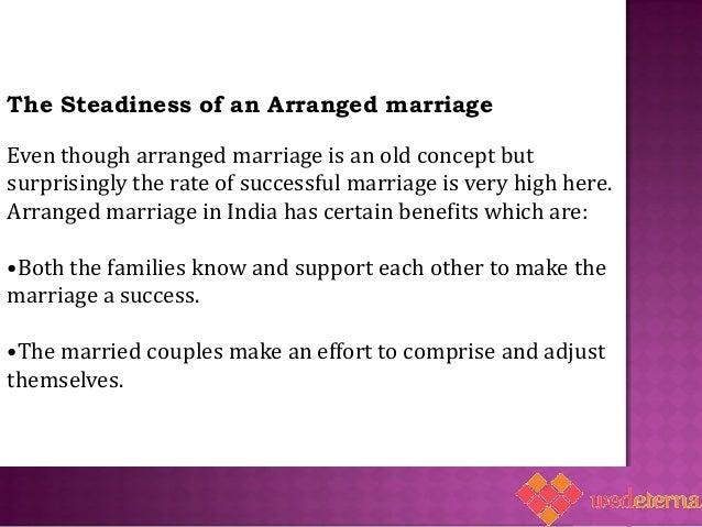 unarranged marriage essay
