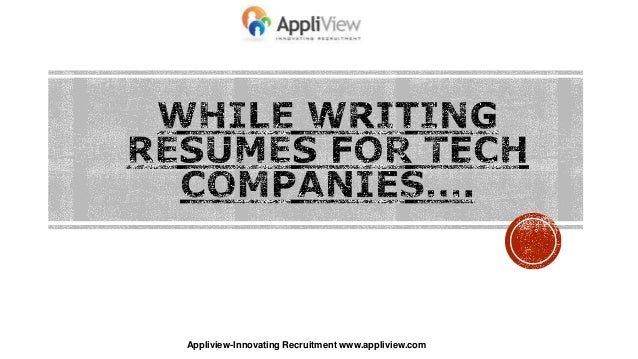 Appliview-Innovating Recruitment www.appliview.com