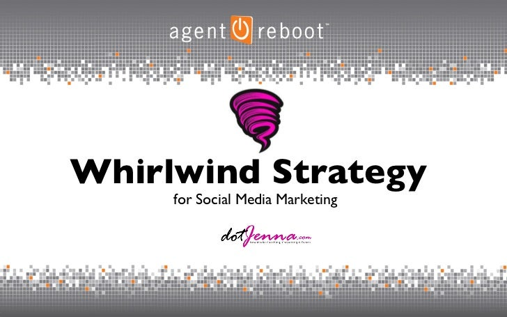 for Social Media Marketing Whirlwind Strategy