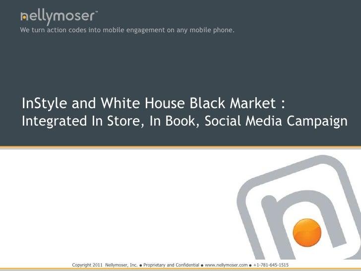 White House Black Market with InStyle Magazine