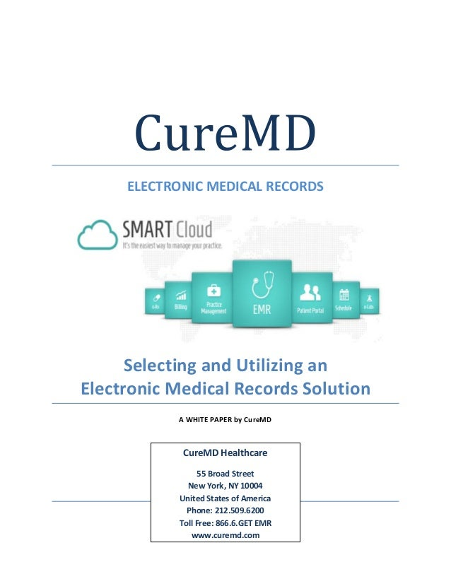 paper medical records to electronic medical records
