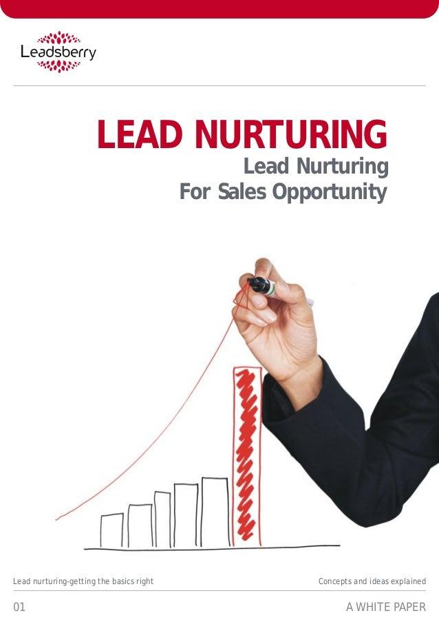 White paper-lead-nurturing-lead-nurturing-for-sales-opportunity