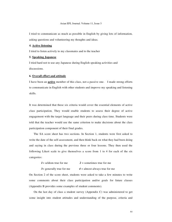 reflective portfolio self evaluation report Student self assessment and reflection students could write a letter to their parents or complete a template to insert into the report.