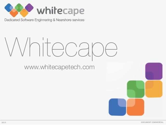 DOCUMENT COMMERCIAL2015 Whitecapewww.whitecapetech.com