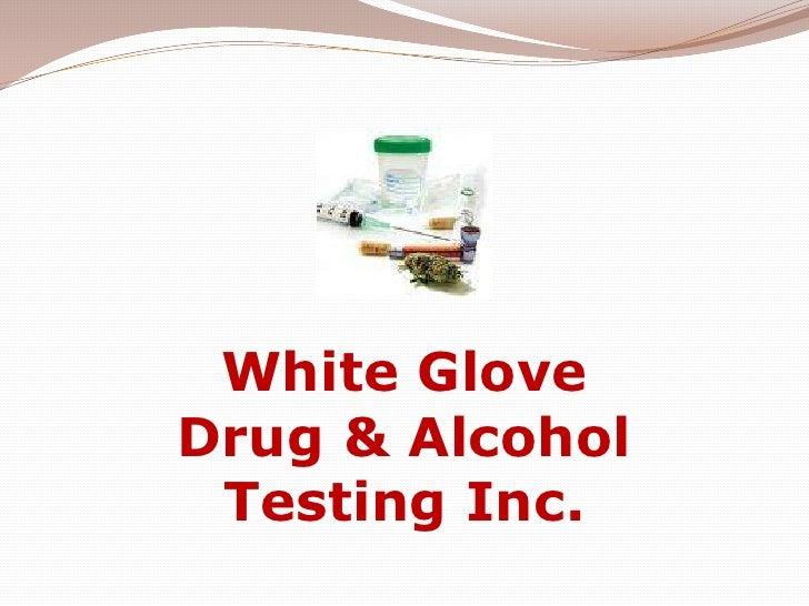 White Glove Drug & Alcohol Testing Inc.<br />