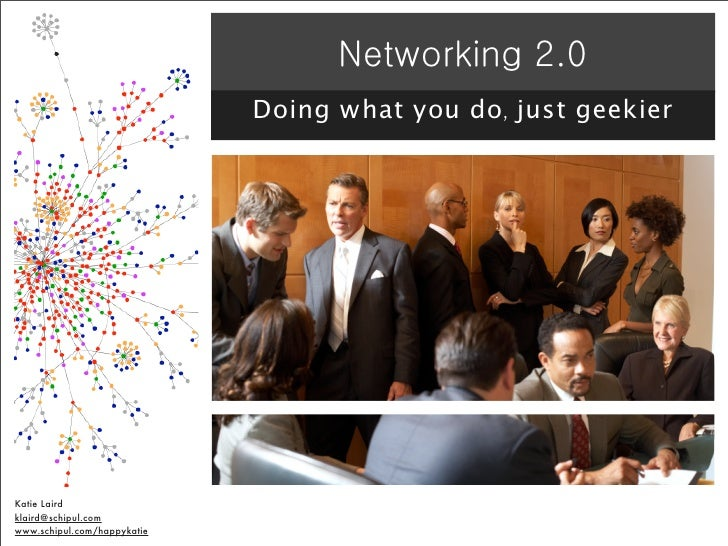 Networking 2.0 - Using Social Media to Rock your Offline Networking World