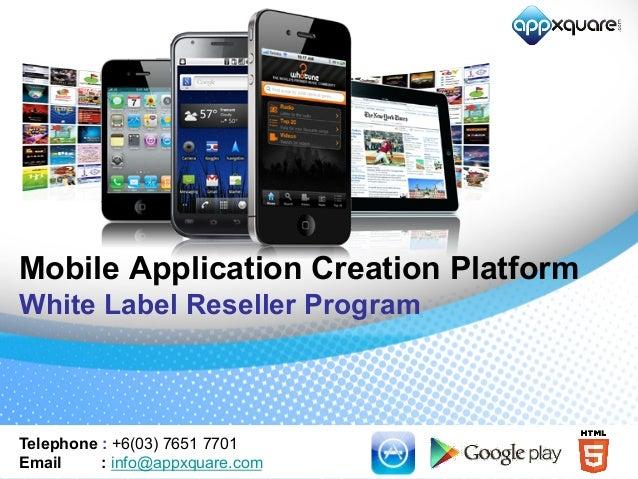 White Label Reseller Program
