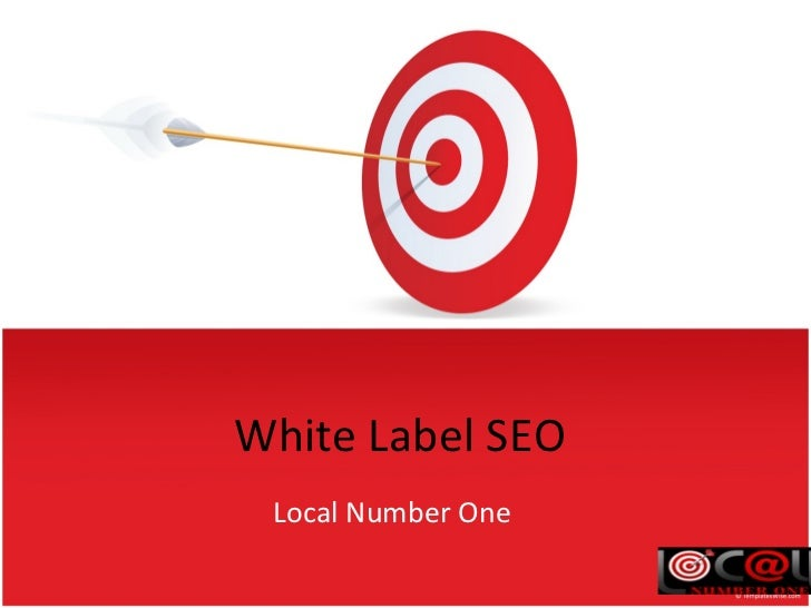 White Label SEO Local Number One