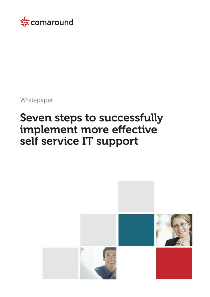 Whitepaper   7 steps to effective it-support
