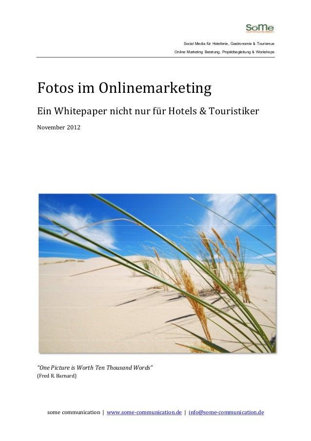 Social Media für Hotellerie, Gastronomie & Tourismus                                                Online Marketing Berat...