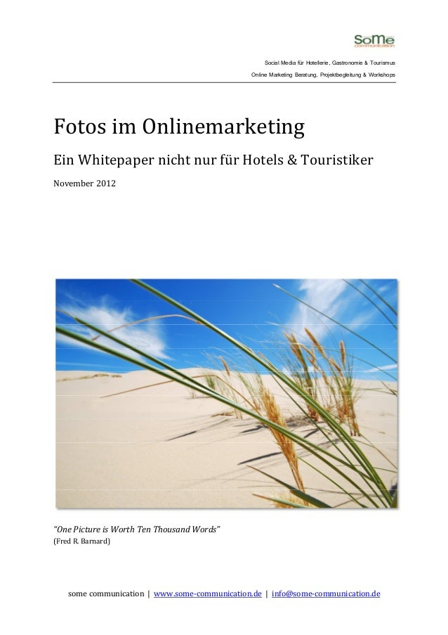 "Whitepaper ""Fotos im Onlinemarketing"""