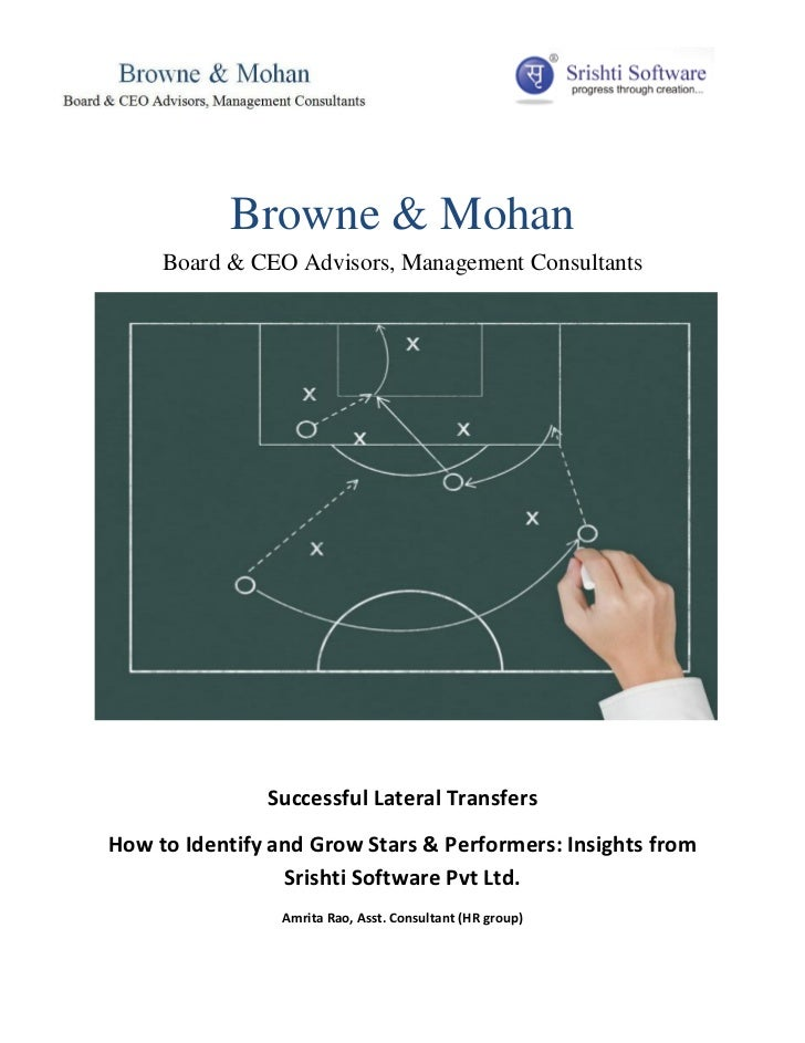 Browne & Mohan     Board & CEO Advisors, Management Consultants               Successful Lateral TransfersHow to Identify ...