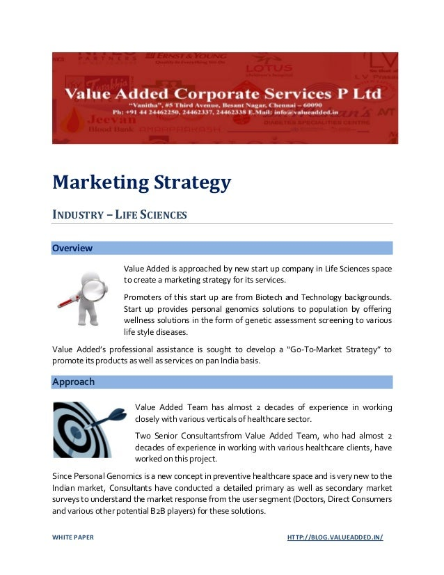 Marketing Strategy Research Paper Starter