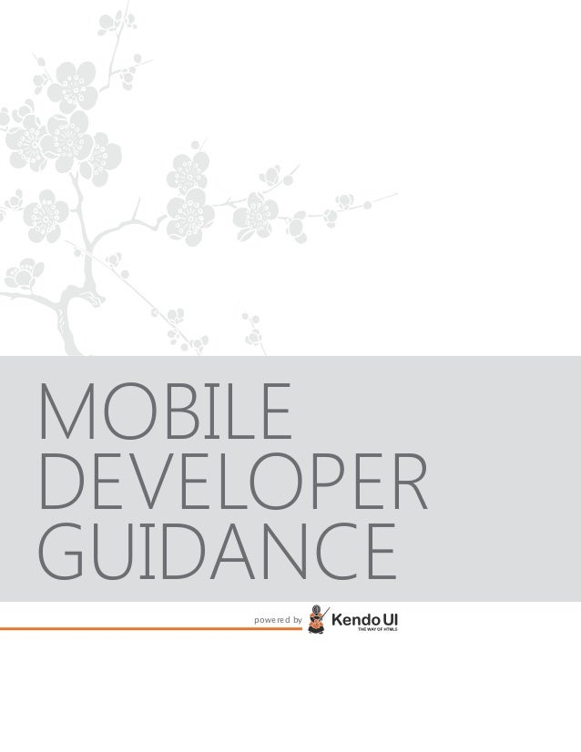MOBILE DEVELOPER GUIDANCE powered by