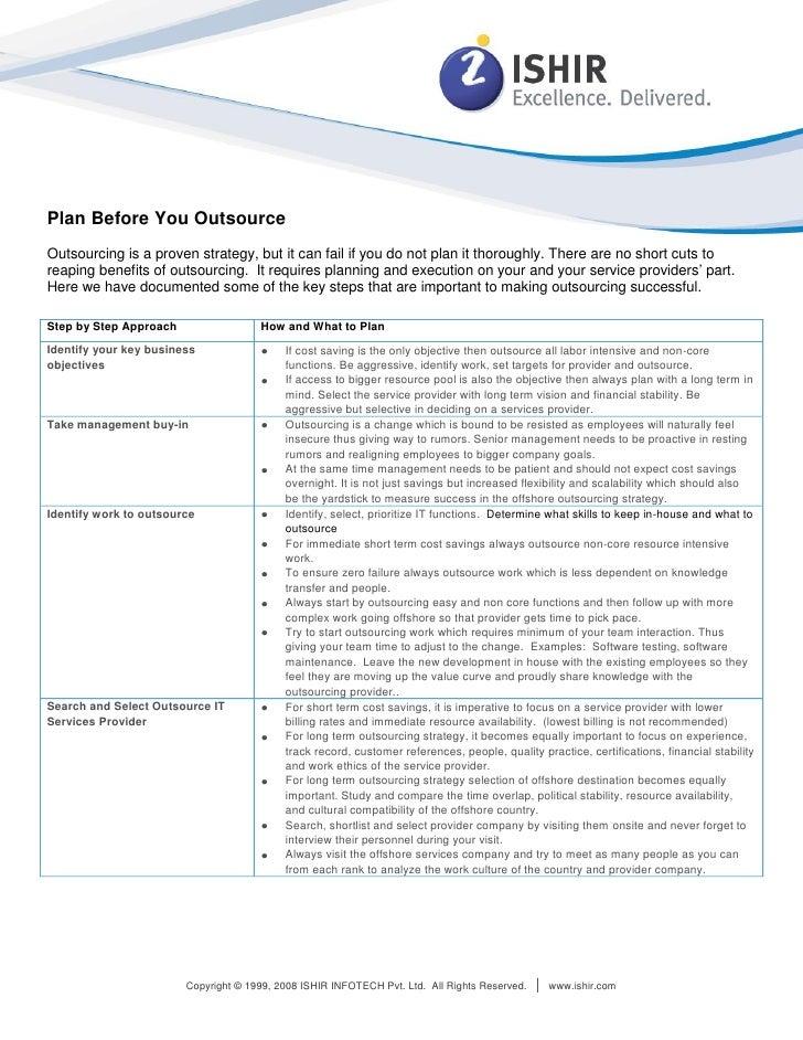 White Paper: Offshore Software Development Company, Offshore Product Development
