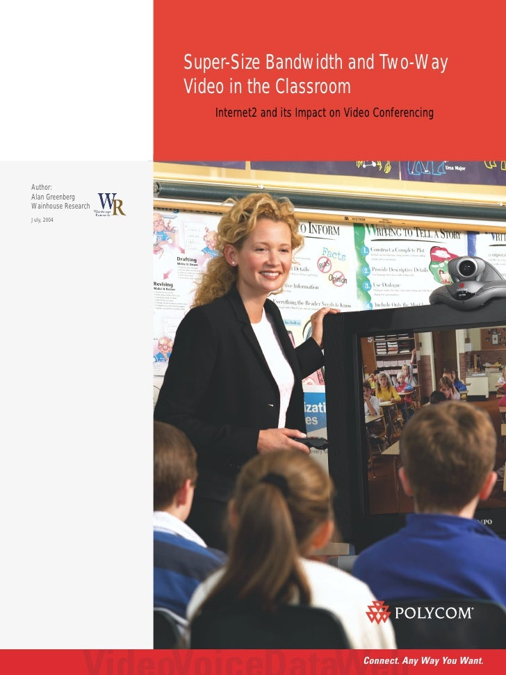 Whitepaper: Video Conferencing in the Classroom