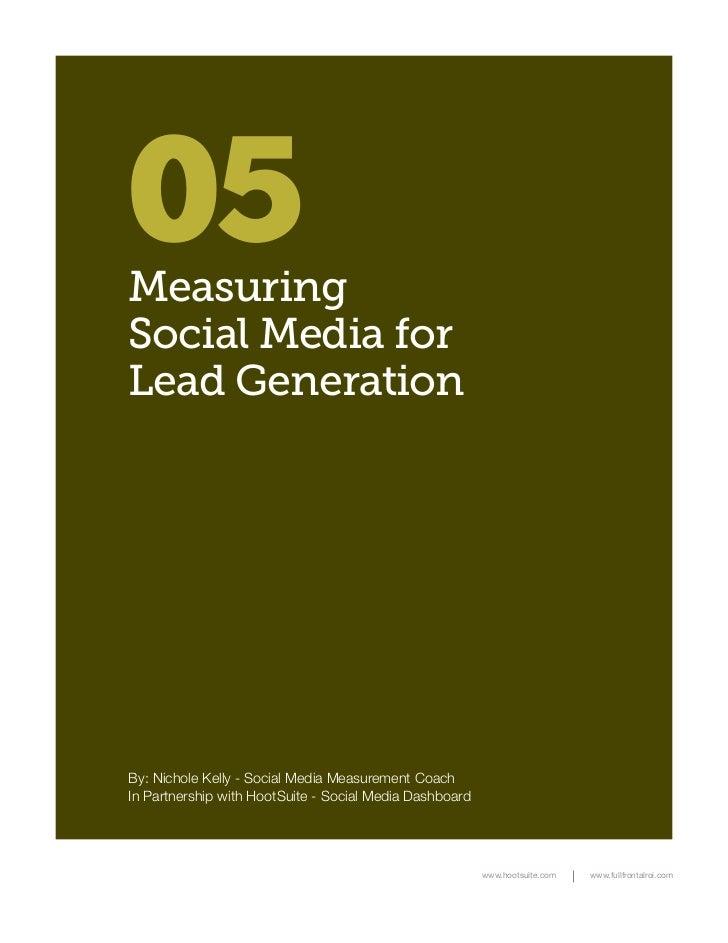 Measuring Social Media for Lead Generation