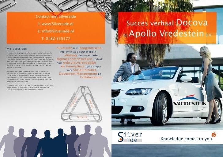 Succesverhaal Docova bij Apollo Vredestein B.V.
