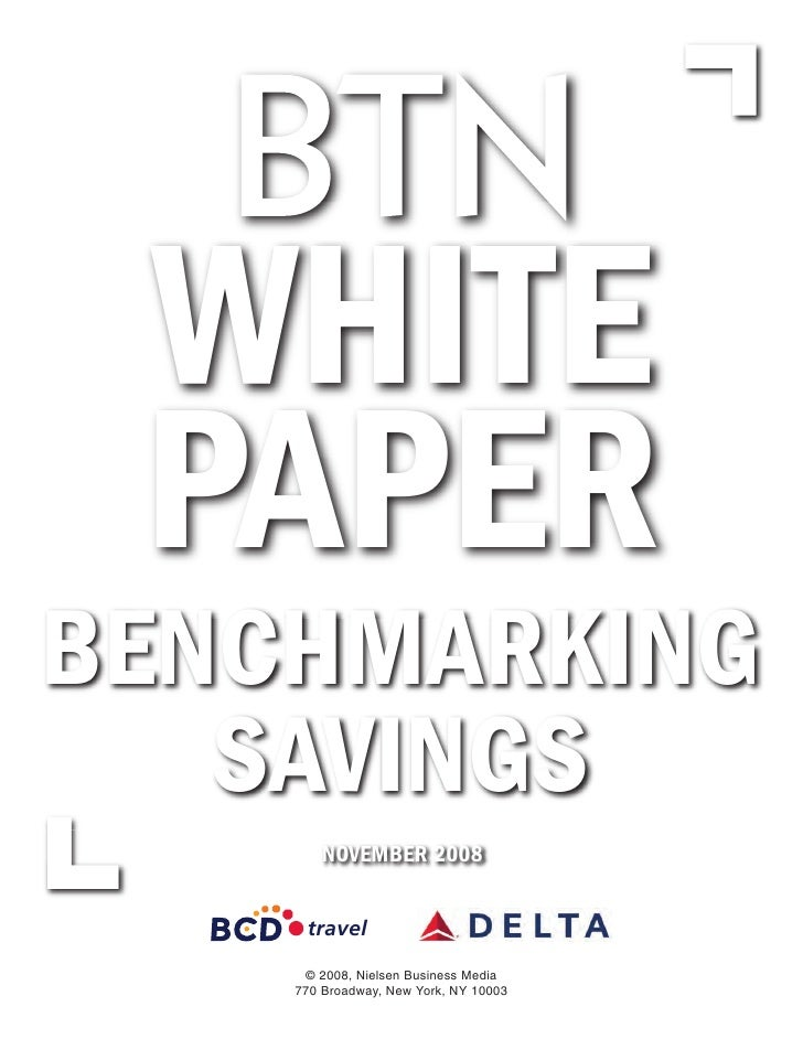 White Paper Benchmark