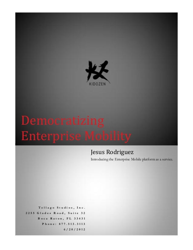 Whitepaper Democratizing Enterprise-Mobility