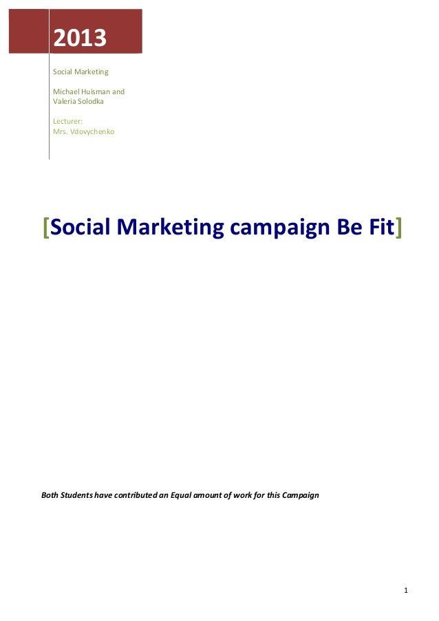 2013                                                               Social Marketing             ...