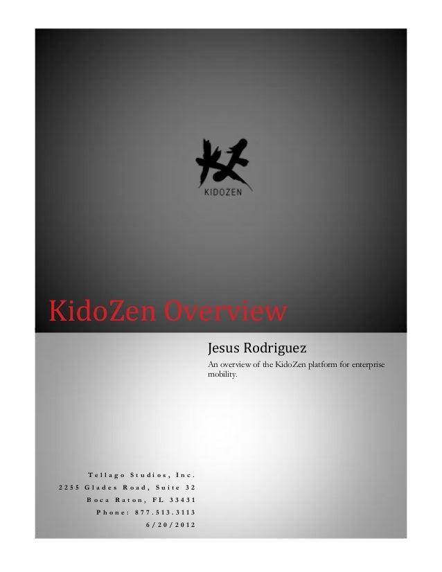 Whitepaper KidoZen  overview