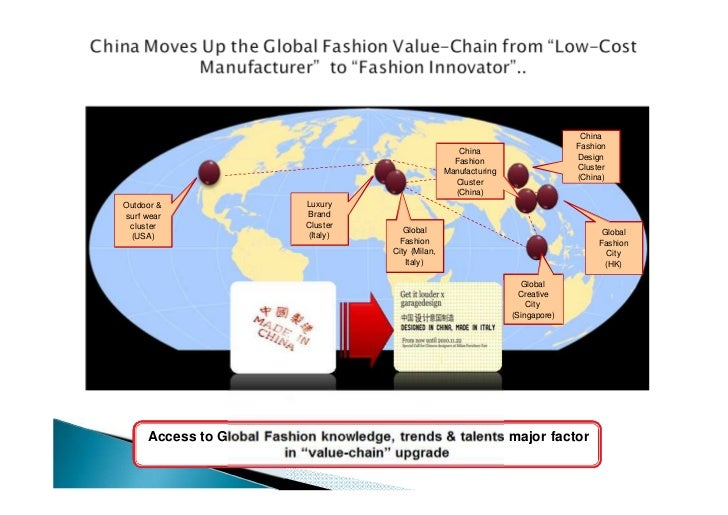 effect of globalization in fashion industry The impact of globalization within the fashion industry globalization of fashion page 1 the impact of globalization within the fashion industry arteria ware engl 1133: freshman composition ii ms ogbaa november 26, 2012 throughout history, the fashion industry has played a significant role in popular culture for people all over the world.