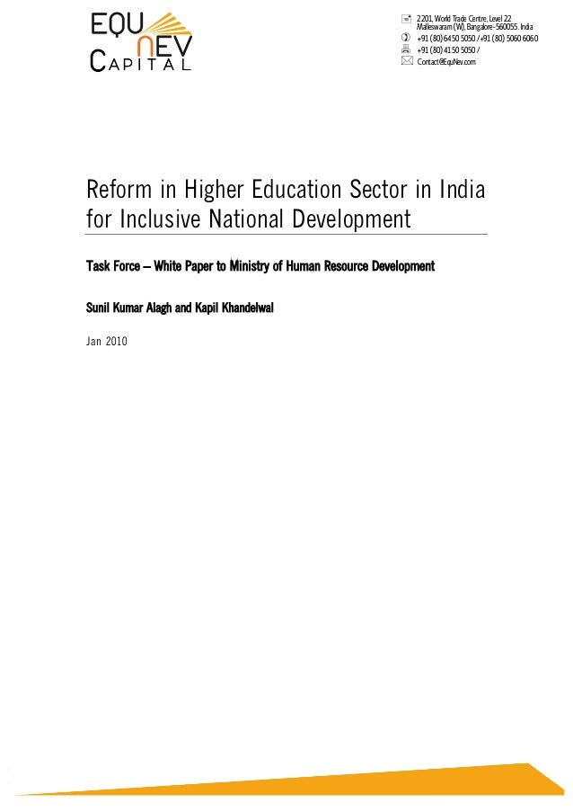 thesis on inclusive education in india 4 policy guidelines on inclusion in education foreword the concept and practice of inclusive education have gained importance in recent years.