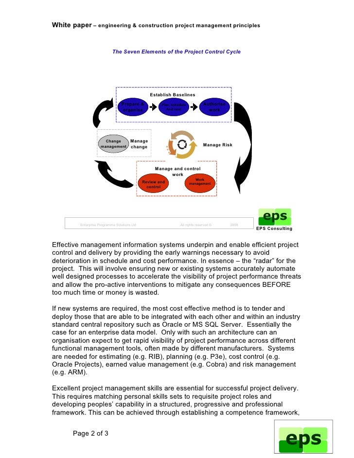 white paper project management