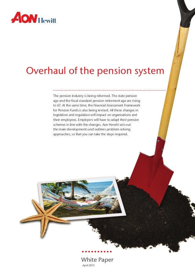 Overhaul of the pension system The pension industry is being reformed. The state pension wijzigingen van de De nieuwe Ziek...