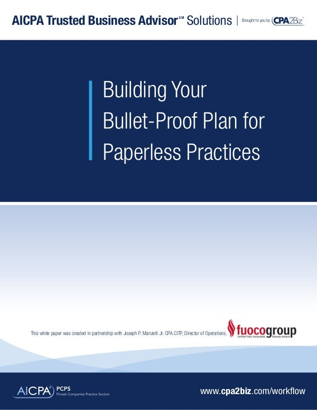 White paper plan_for_paperless