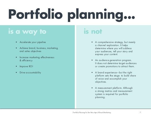 business plan portfolio