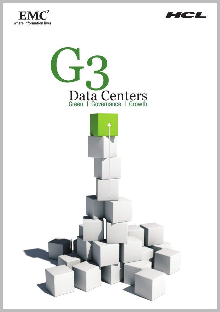 G3Data CentersGreen   Governance   Growth