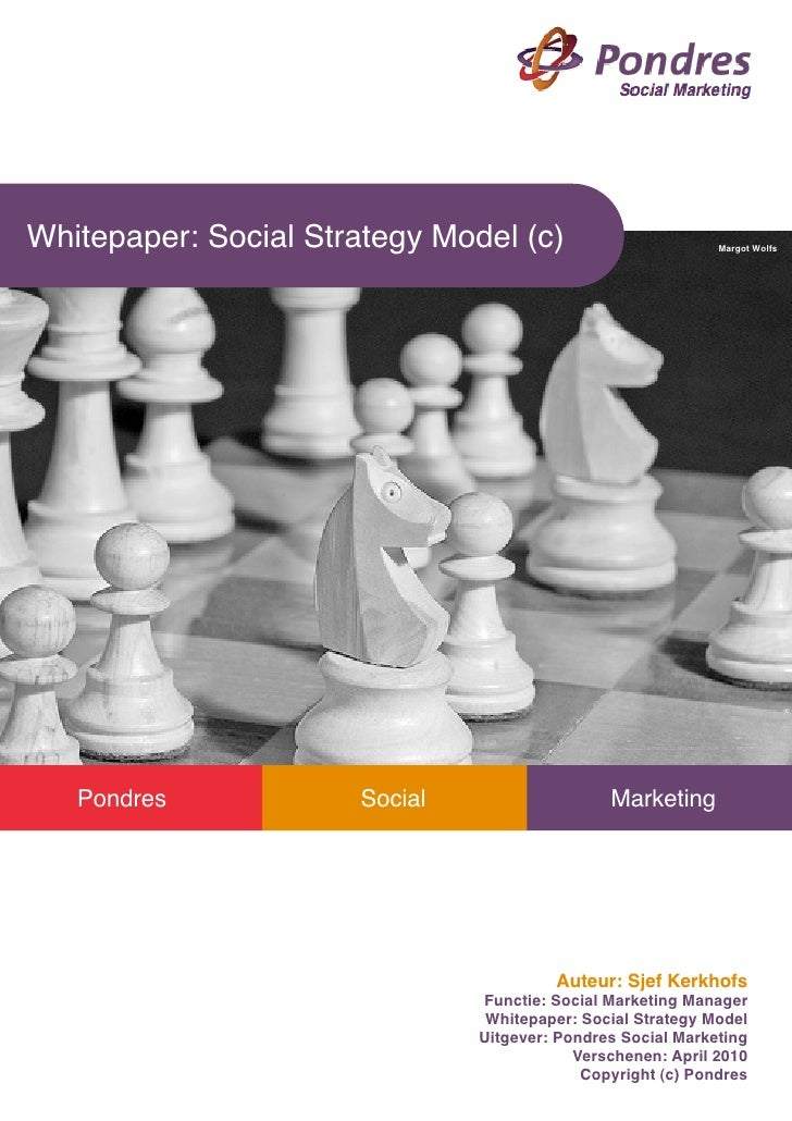 Whitepaper social marketing strategie
