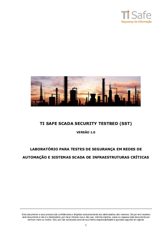 [White Paper] TI Safe SCADA Security Testbed v1