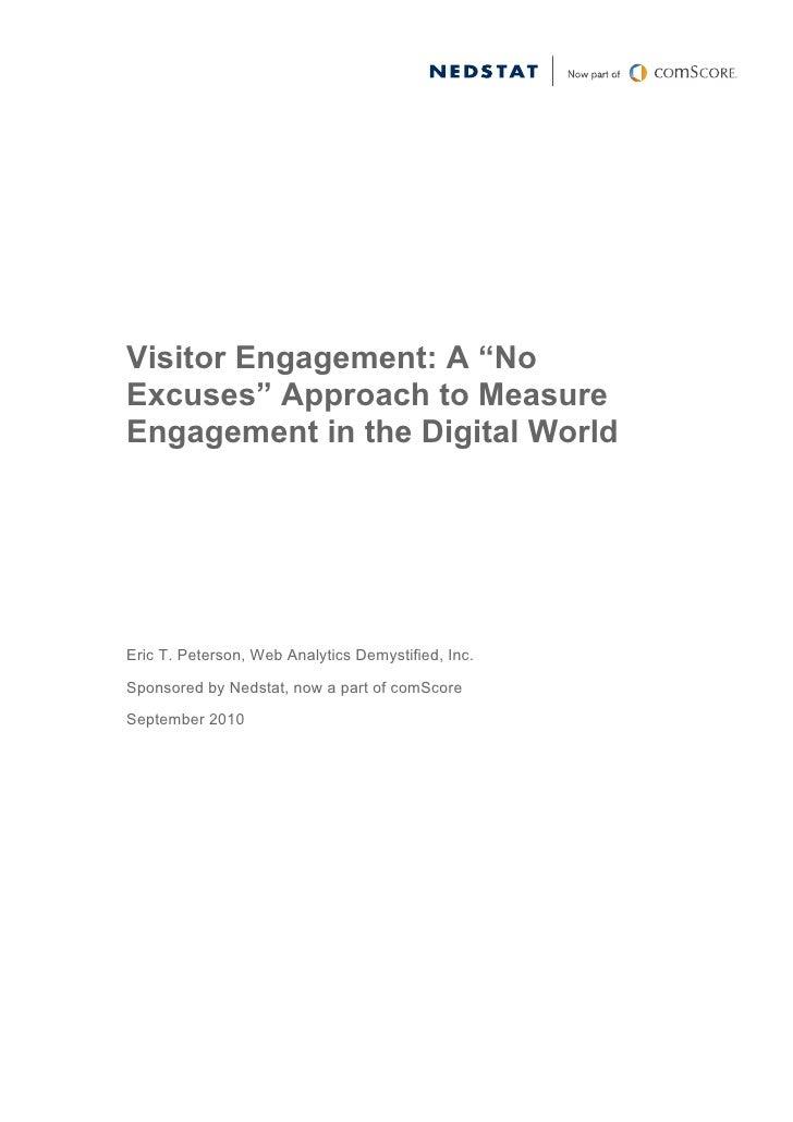Estudio Sobre El Engagement Online. - Whitepaper
