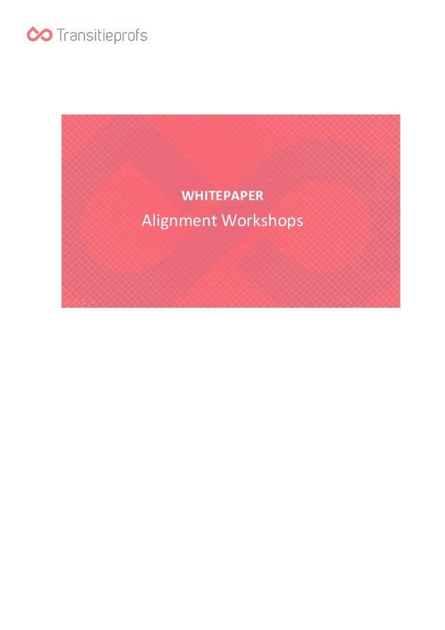 WHITEPAPER  Alignment Workshops