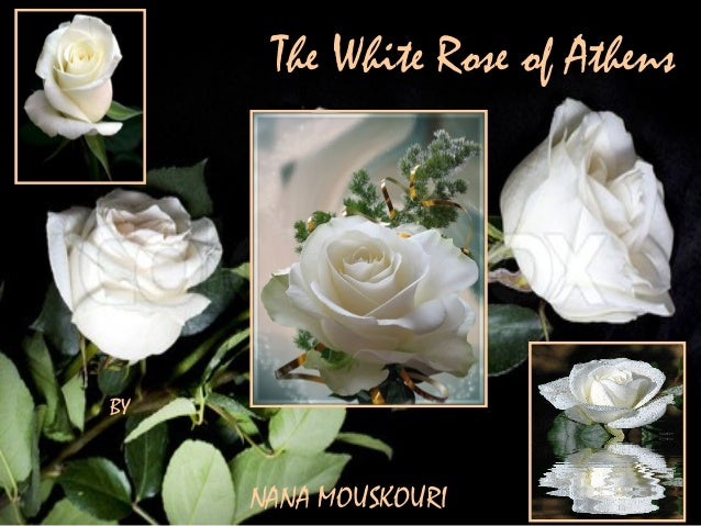 The White Rose of AthensBYNANA MOUSKOURI