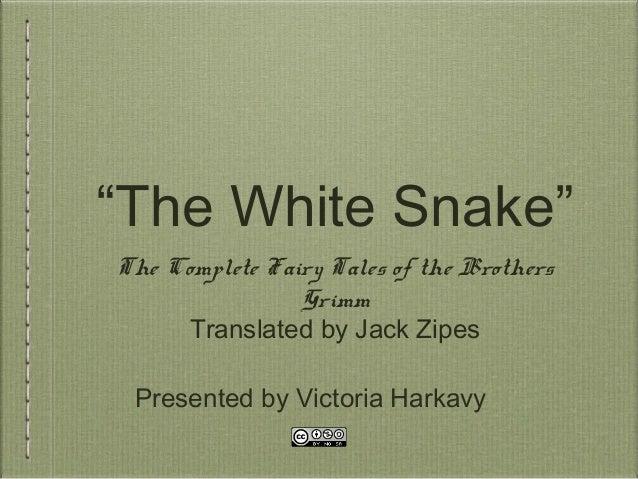 White Snake Text