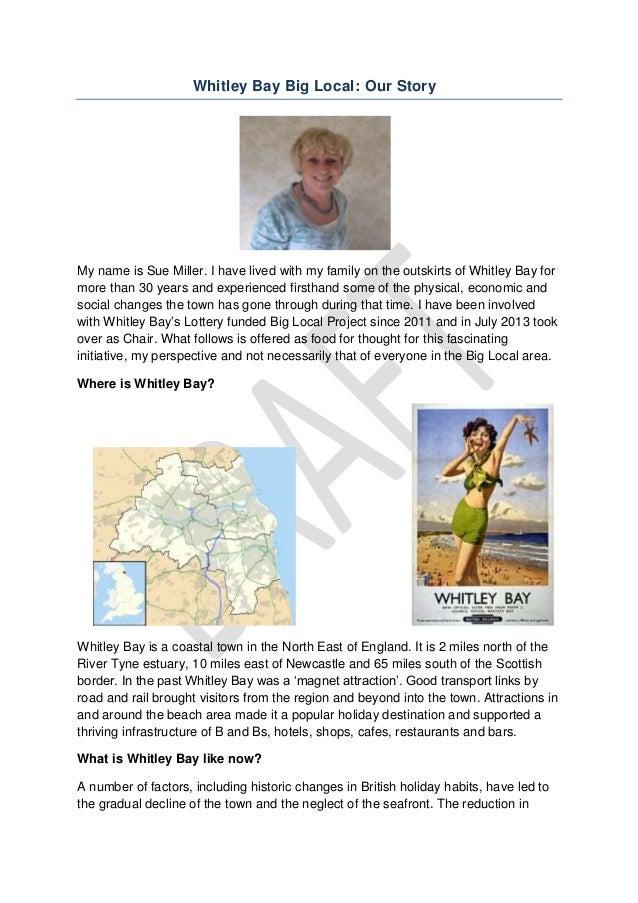 Sue Miller, Whitley Bay Big Local