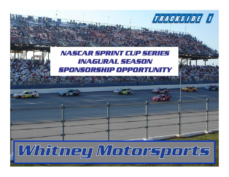 Whitney Motor Sports - Sprint Cup 2010